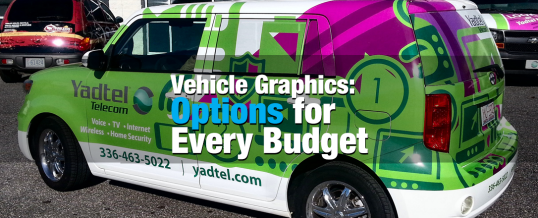 Vehicle Graphics: Options for Every Budget