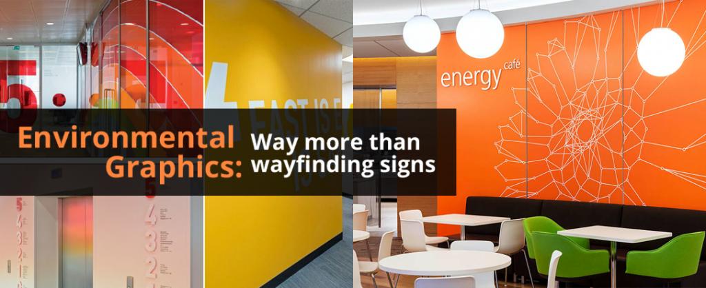 Environmental Graphics Way More Than Wayfinding Signs