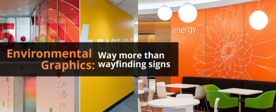 Environmental Graphics: Way More than Wayfinding Signs